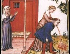 8 Pieces of Advice From the Middle Ages | Mental Floss | Called Courtesy Books of the English 15th century; helped foster good manners without pretense of the later 16-17th century 'nobility' social eschelon.