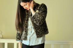 Faux Fur Week Day 4: Boxy Fur Coat Tutorial