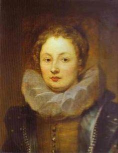 Portrait of a Noblewoman - Anthony van Dyck