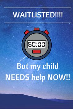 Find out what you can do to support your child when waiting for services! http://www.loudparent.com/?p=157