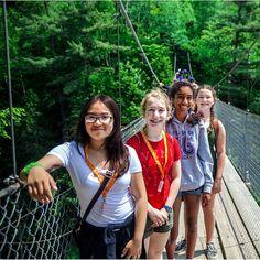 At 74 meters high, the river drop at Canyon Sainte-Anne is nearly one-third taller than Niagara Falls. Student Travel, Quebec, Niagara Falls, Third, Waterfall, Bridge, Canada, Drop, River