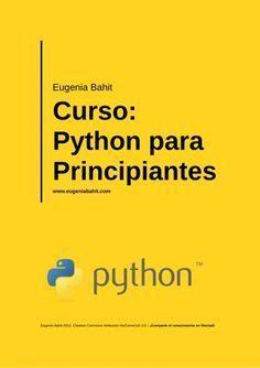 "Cover of ""Python para principiantes"" Computer Technology, Computer Programming, Computer Science, Computer Tips, Computer Engineering, Coding Languages, Programming Languages, Python Programming, Learn To Code"