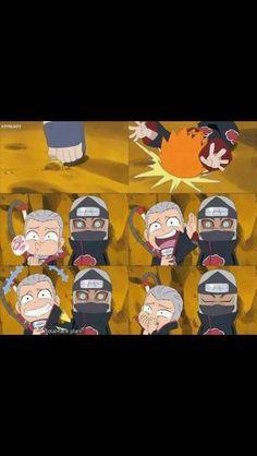 Naruto SD- Rock Lee and His Ninja Pals- Hidan
