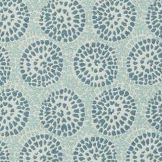 Pattern #:15636-19 Pattern Name: MIRAVAL, AQUA Book #2935 - Prussian, Spruce: Tilton Fenwick Collection
