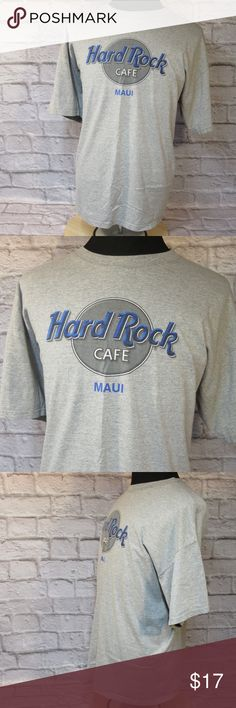 """Hard Rock Cafe Maui Tee Shirt M47 EUC Please double-check measurements below for a proper fit.   THE FIT Size - XX Large CHEST - Armpit to Armpit - About - 26"""" SHOULDERS - Seam to Seam - About -26"""" SLEEVE - Center of Collar to End of Cuff - About - 21"""" LENGTH - Base of Collar to Hem - About - 29""""  THE DETAILS Short Sleeve No Front Pockets 100% Cotton  PLEASE FOLLOW MY CLOSET FOR GREAT NEW DEALS EVERYDAY! THANK YOU FOR YOUR BUSINESS! Hard Rock Shirts Tees - Short Sleeve"""