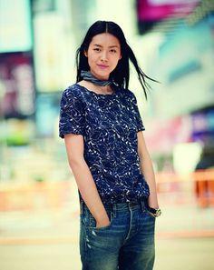 Liu Wen J. Crew Fall 2013