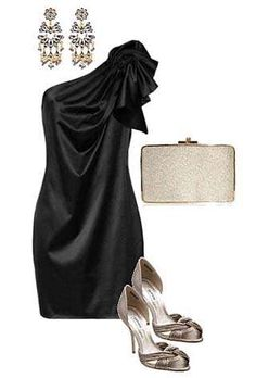 Sencillos y elegantes vestidos negros de fiesta 2013   http://vestidoparafiesta.com/sencillos-y-elegantes-vestidos-negros-de-fiesta-2013/