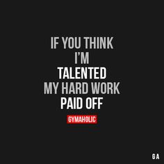 If You Think I'm Talented