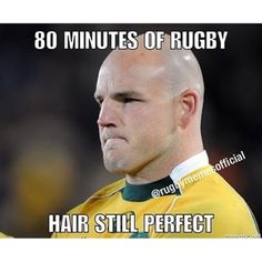 Image result for rugby union hair meme