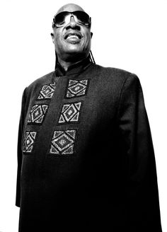 Stevie Wonder by Platon