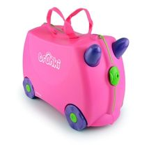 Buy Trunki Ride-On Case (Trixie/Pink) online and save! Trunki – the world's first ride-on suitcase for globetrotting tots! Trunki was created to beat the boredom so often suffered by travelling tots. Childrens Luggage, Kids Luggage, Hand Luggage, Toddler Luggage, Luggage Case, Luggage Suitcase, Travel Luggage, Ours Paddington, Toy Trunk