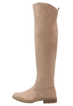Anna Field Overknees sand Schuhe bei Zalando.de | Obermaterial: Textil, Innenmaterial: Textil, Sohle: Kunststoff, Decksohle: Lederimitat | Schuhe jetzt versandkostenfrei bei Zalando.de bestellen!