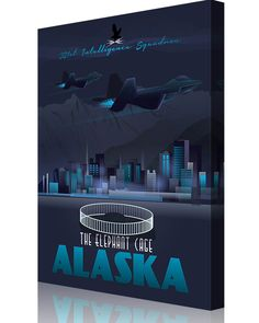 Share Squadron Posters for a 10% off coupon! Elmendorf AFB 381st Intelligence Squadron #http://www.pinterest.com/squadronposters/