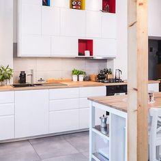 Oto nowa kuchnia @nishka.pl Jak Wam się podoba? #IKEA #IKEAPolska #kuchniaIKEA #kuchnia #VOXTORP #kuchnianamiare #poswojemu