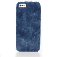 Blue smoke flip cover hoesje voor iPhone 5/5S - PhoneGeek.nl