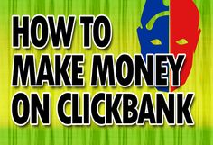 Making money with Clickbank is not a big deal if you know the right kinds of methods to do it. People have turned $100 into $1000 using Clickbank only.