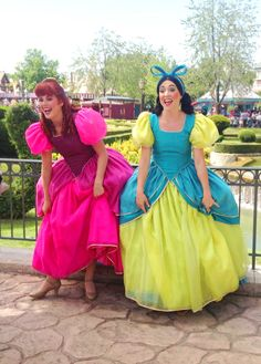 Anastasia and Drizella Making Mischief, 2013. Photo Credit: Bellesgrotto
