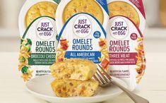 Kraft Heinz's Just Crack an Egg brand launchesnew omelette offering - FoodBev Media Protein Packed Breakfast, Breakfast Options, Breakfast Cereal, Broccoli Cheddar, Cheddar Cheese, Kraft Heinz, Egg Protein, Food Packaging Design, Cheddar