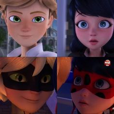 She pulled the same face. She must be slowly falling for him just like she did Adrien