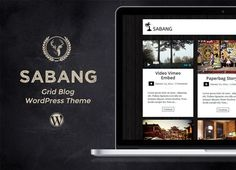 nice Sabang - Grid Blog WordPress Theme