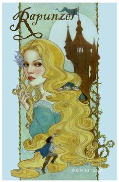 """Rapunzel"" ~ by Kim Kincaid"