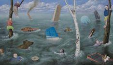 Painting by Artist Jeff Wigman represented by Saatchi Art Buddhist Philosophy, Spiritual Development, True Nature, Our Life, Buddhism, Saatchi Art, Spirituality, Illustration, Artist