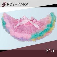 Baby girl full tutu skirt New size 3m -3year Other
