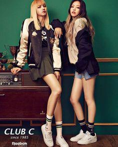 [INSTAGRAM] 161106 Club C Exclusive | BLACKPINK x REEBOK CLASSIC Source: reebokclassickorea