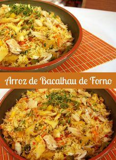 ARROZ DE BACALHAU DE FORNO