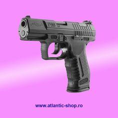 Pistol airsoft Walther P99 DAO modificat 3,5 J . Functioneaza cu CO2 si are blowback (recul). #romania Airsoft, Romania, Hand Guns, Firearms, Pistols