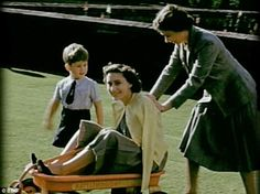 Princesses Elizabeth, Margaret & Prince Charles