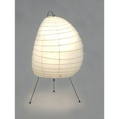 Envisioned as a modern interpretation of traditional Japanese lanterns, Akari Lamps were created in the 1950s by Japanese-American sculptor and designer Isamu Noguchi and they remain essential classics today.  Hand crafted by a cottage industry in Japan of mulberry paper over a bamboo structure, they create a soft, welcoming light in any interior application.