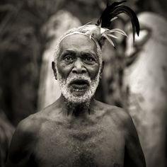 Old bearded man, Small Nambas tribe in Malekula, Vanuatu by Eric Lafforgue, via Flickr