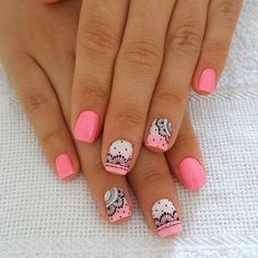Ideas For French Manicure Designs Disney Glitter French Manicure, French Manicure Designs, Nail Designs Spring, French Nails, Manicure And Pedicure, Nail Art Designs, Gorgeous Nails, Love Nails, Pretty Nails