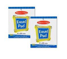 BESTSELLER! Melissa & Doug Easel Pad Bundle 50 Sh... $11.19