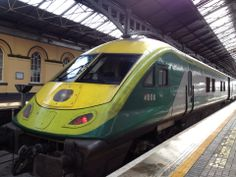 """See 347 photos and 53 tips from 6196 visitors to Dublin Heuston Railway Station. """"You need your ticket to get through the turnstile after you've. Rail Train, High Speed Rail, Corporate Identity Design, British Rail, Rolling Stock, Locomotive, Vintage Advertisements, Buses, Dublin"""