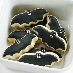 Galetes en forma de ratpenat! Una tentació obscura!