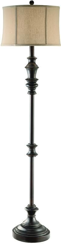 Crestview Collection CVATP765 Kirby Floor Lamp 15 X 16 X 10