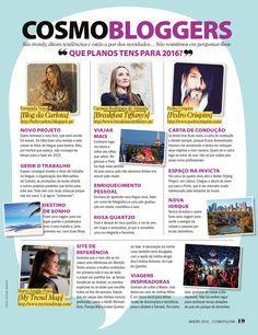 Cosmobloggers | Cosmopolitan January 2016