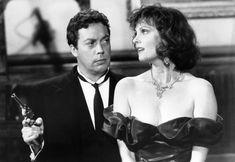 CLUE, Tim Curry, Lesley Ann Warren, 1985 | Essential Film Stars, Tim Curry http://gay-themed-films.com/essential-film-stars-tim-curry/