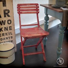 Vintage Bistro chair by Atelier Autêntico | Cadeiras de jardim vintage