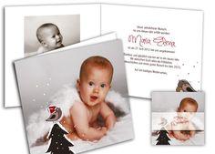 Geburtsanzeige+und+Weihnachtenkarte+-+schöne+Kombination Decoration Table, Learning, Frame, Home Decor, Illustration, Invitations, Weihnachten, Ship It, Dekoration