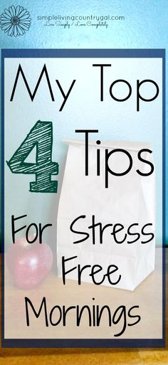 I have learned the more you do the night before the better your morning will be. This tip is no exception!