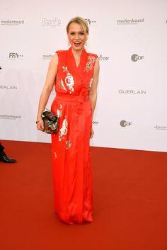 Nova Meierhenrich beim Deutschen Filmpreis in Berlin