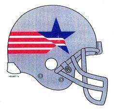 Prototype patriots helmet