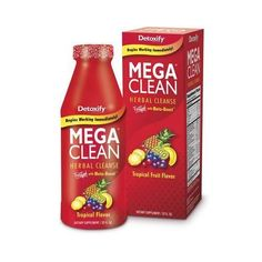 Enjoy Detoxify Mega Clean - Tropical - 32 oz every day at these amazing prices! Detoxify Mega Clean is our most powerful cleansing herbal detox drink. Detox Your Colon, Herbal Colon Cleanse, Herbal Detox, Cleaning Your Colon, Clean Cleanse, Cleanse Detox, Juice Cleanse, Best Detox, Healthy Detox