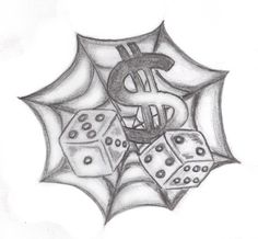 Spider web n dice tattoo design. Find and save ideas about Spider web n dice tattoo design on Tattoos Book. More than FREE TATTOOS Tattoo Design Drawings, Tattoo Sketches, Tattoo Designs Men, Design Tattoos, Small Cross Tattoos, Small Tattoos, Tattoos For Guys, Skull Hand Tattoo, Hand Tattoos