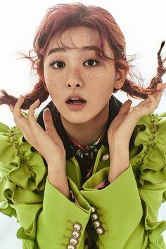 Seulgi (Red Velvet) - Vogue Magazine December Issue '16