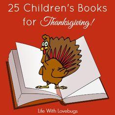 25 Children's Books for Thanksgiving
