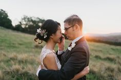 The now iconic photo of bride Roslyn tearing up in husband Adrian's arms and the touching story behind it by James Day Photography recently went viral and we knew we had to reach out to the Sydney-based wedding photographer for more beautiful, emotive photos from the set.